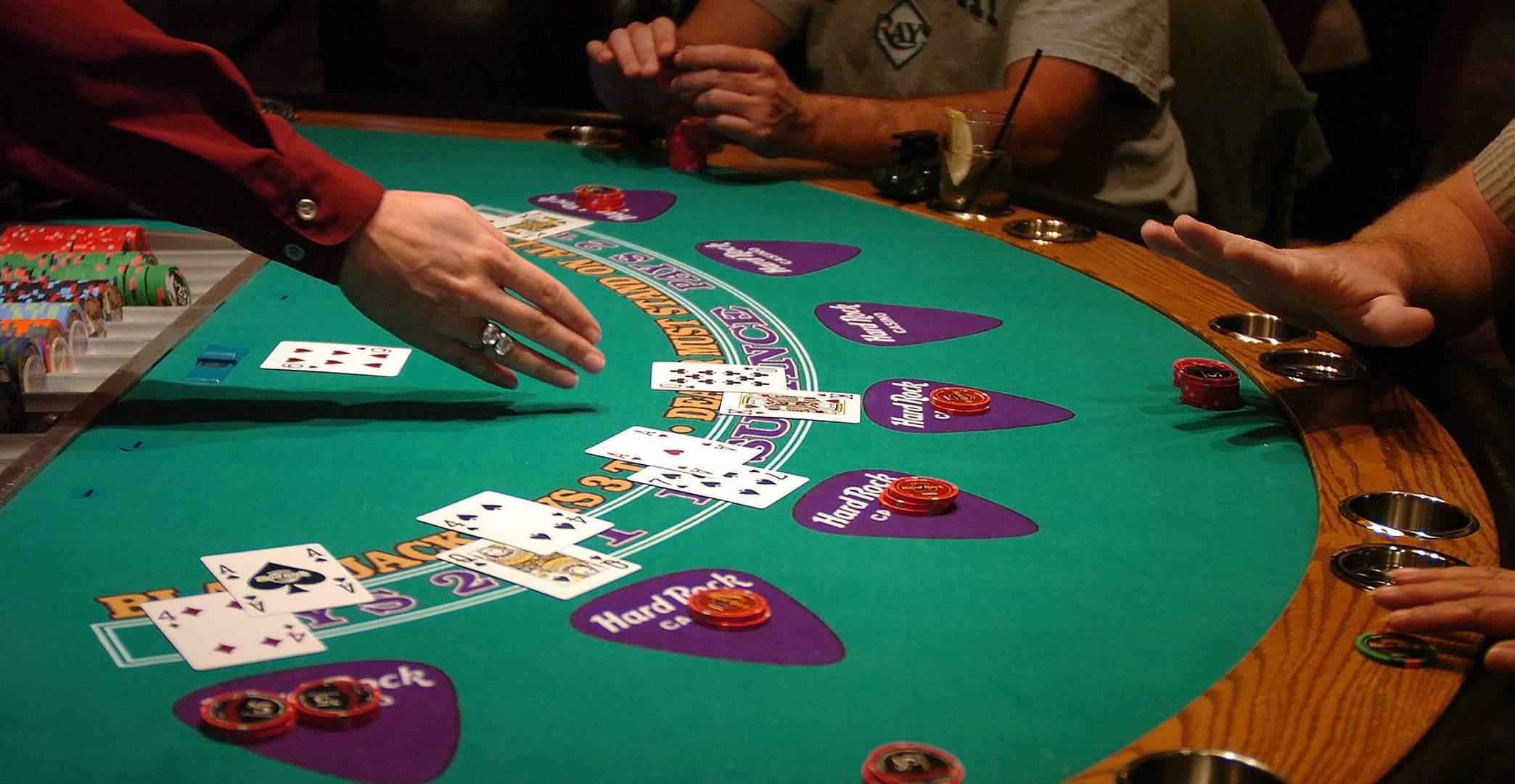 Le blackjack, un loisir de prédilection