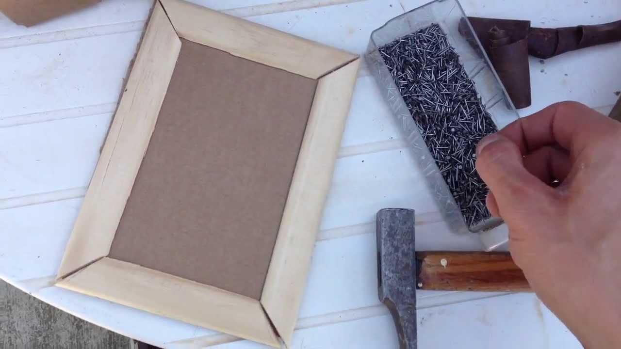 comment fabriquer un cadre photo. Black Bedroom Furniture Sets. Home Design Ideas